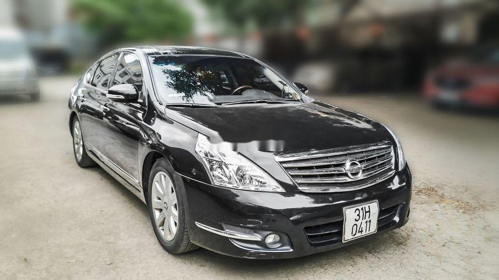 Bán xe Nissan Teana 2.5XV V6 năm 2010, màu đen, giá 515Tr (1)