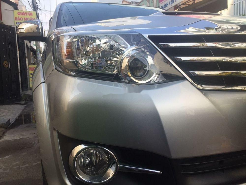 Cần bán lại xe Toyota Fortuner sản xuất 2015, màu bạc, giá tốt (1)