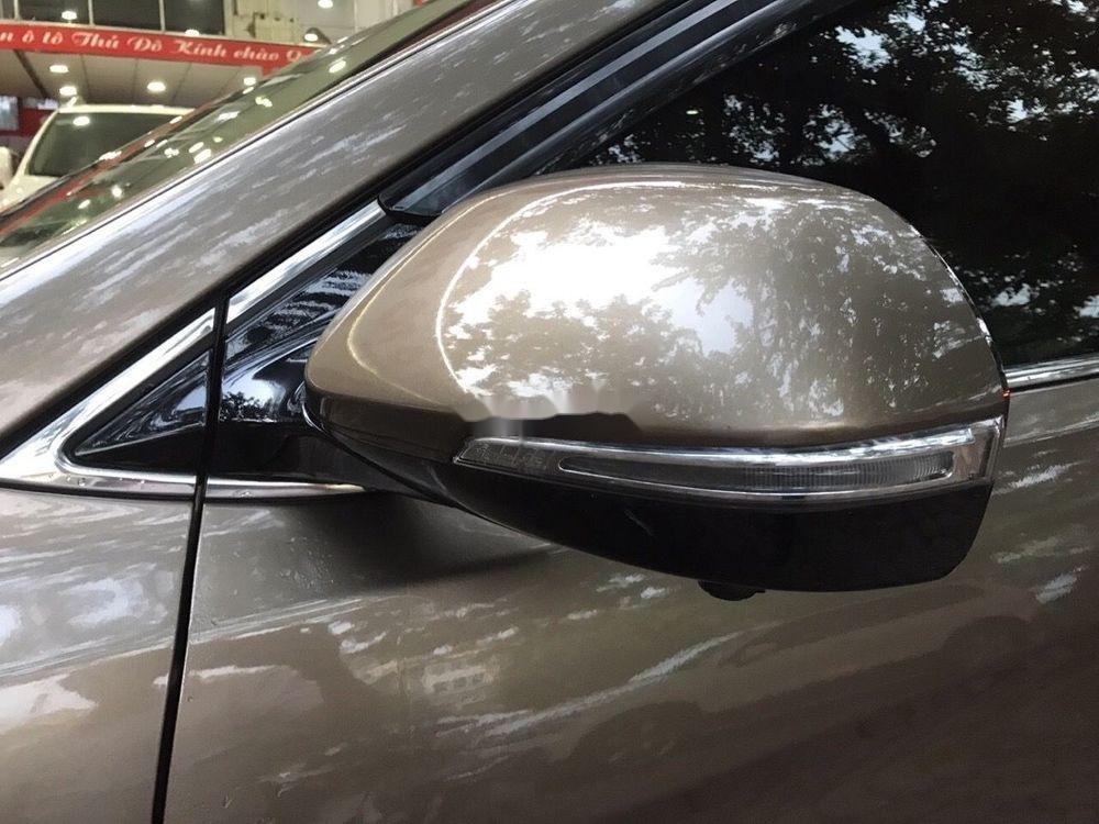Bán Hyundai Santa Fe năm 2016, màu nâu xe nguyên bản (6)