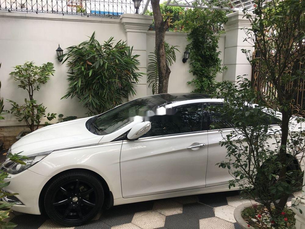 Cần bán Hyundai Sonata sản xuất năm 2012, màu trắng, nhập khẩu (12)