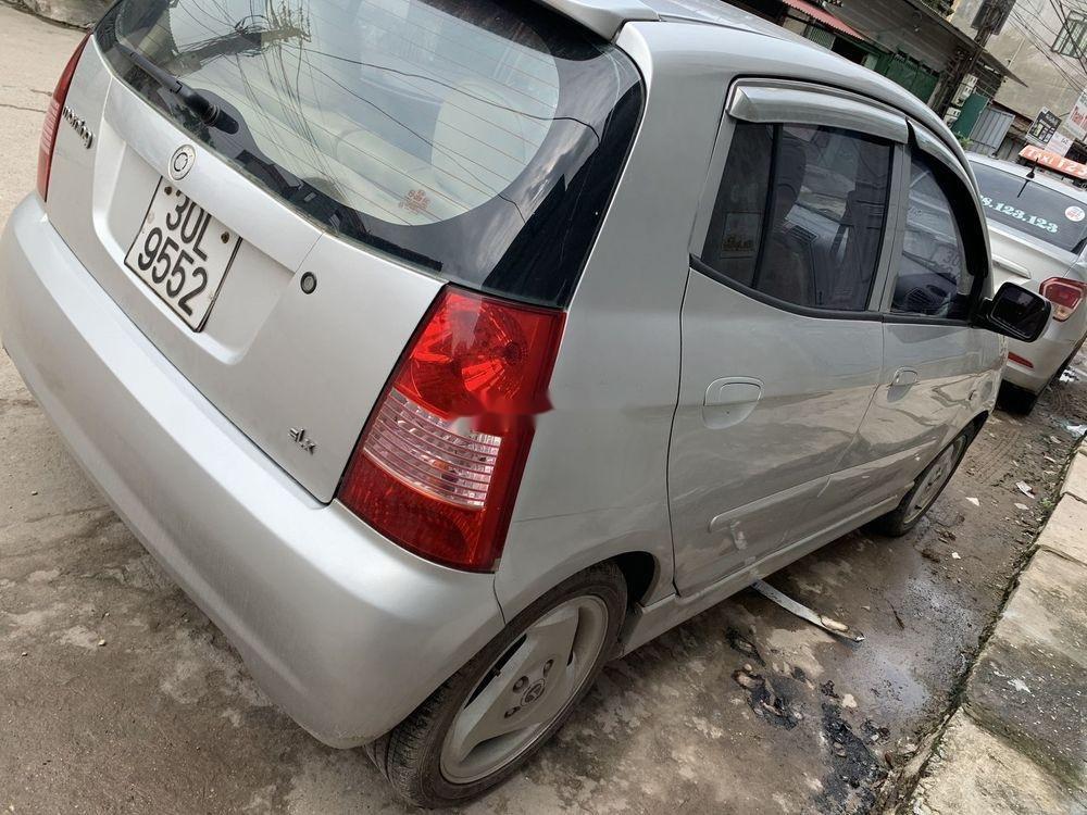Cần bán xe Kia Morning SLX  MT sản xuất 2004, màu bạc, nhập khẩu (6)