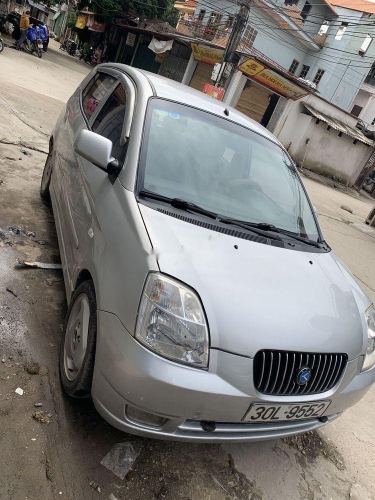 Cần bán xe Kia Morning SLX  MT sản xuất 2004, màu bạc, nhập khẩu (8)