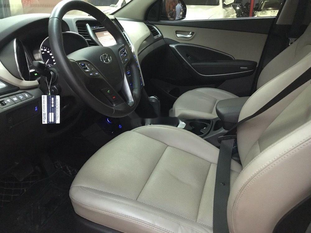 Bán Hyundai Santa Fe năm 2016, màu nâu xe nguyên bản (9)