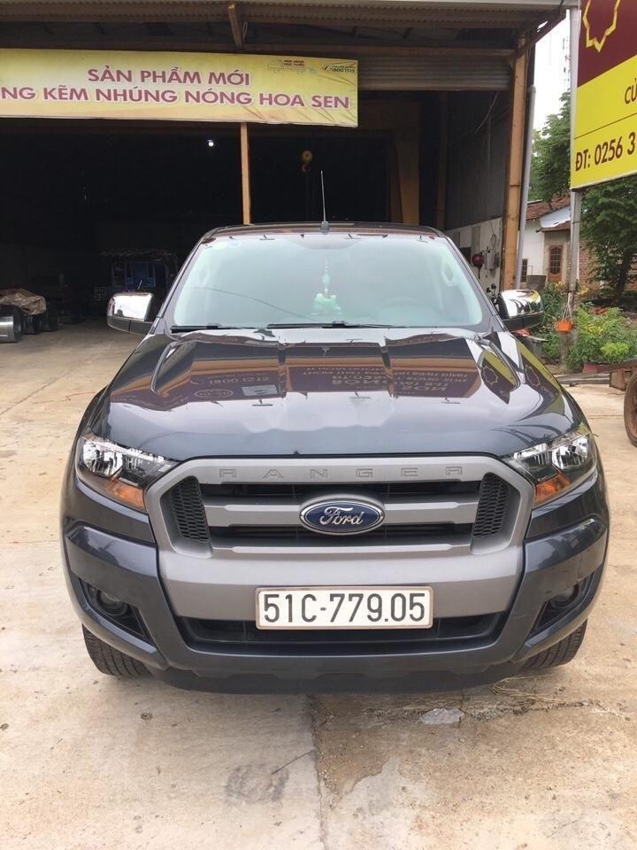 Bán xe Ford Ranger sản xuất năm 2016, màu xám xe gia đình, xe nguyên bản (1)