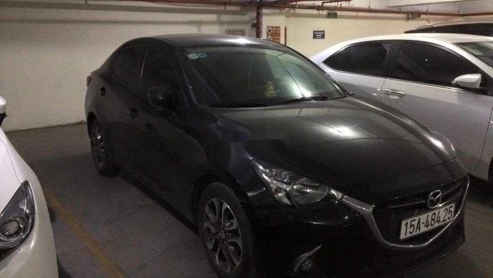 Bán ô tô cũ Mazda 2 đời 2016, màu đen, chính chủ (1)