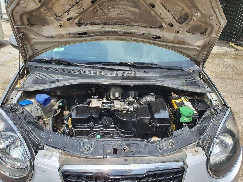 Bán Kia Morning năm 2012, màu bạc chính chủ, giá tốt, xe nguyên bản (12)