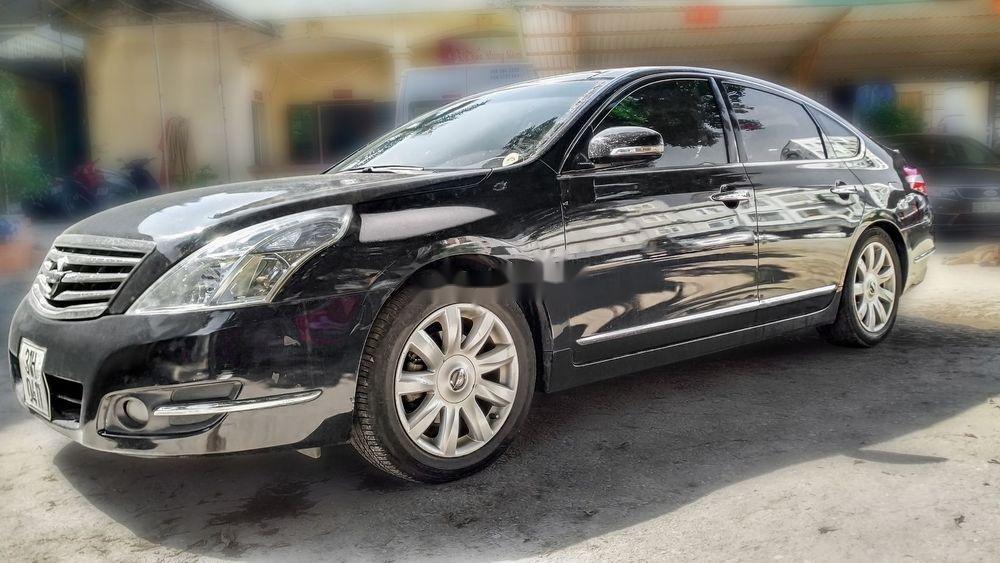 Bán xe Nissan Teana 2.5XV V6 năm 2010, màu đen, giá 515Tr (12)