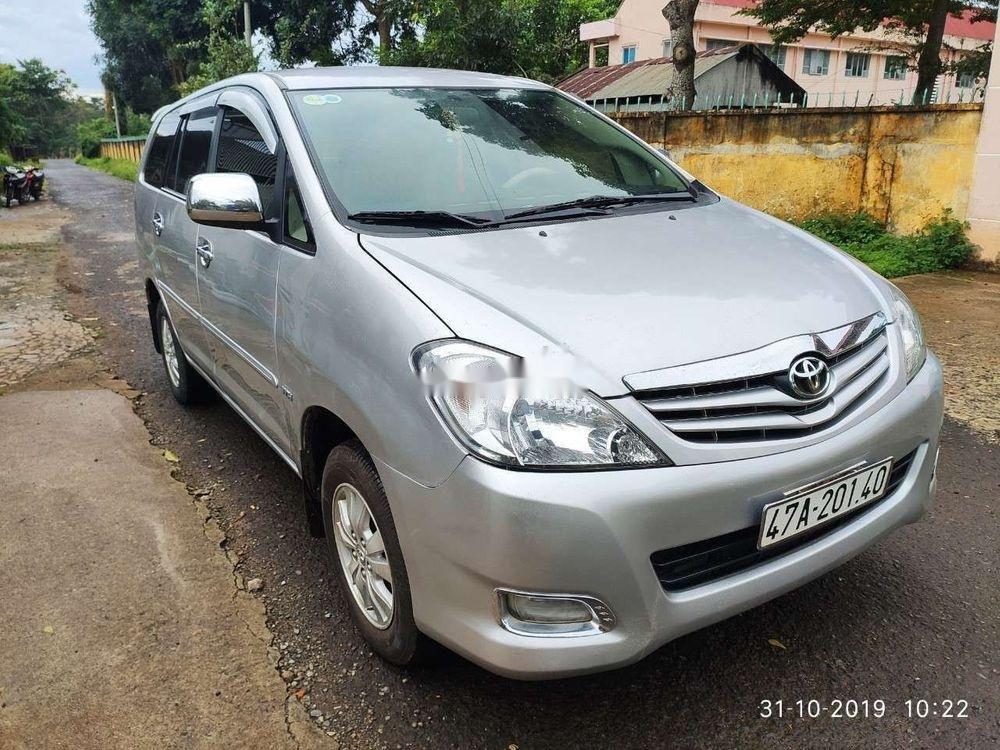 Bán Toyota Innova sản xuất năm 2009, màu bạc, chính chủ, 310 triệu (1)