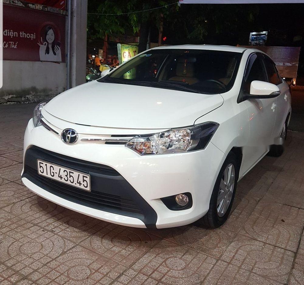 Cần bán xe Toyota Vios AT sản xuất 2017, màu trắng ít sử dụng, 457 triệu (3)