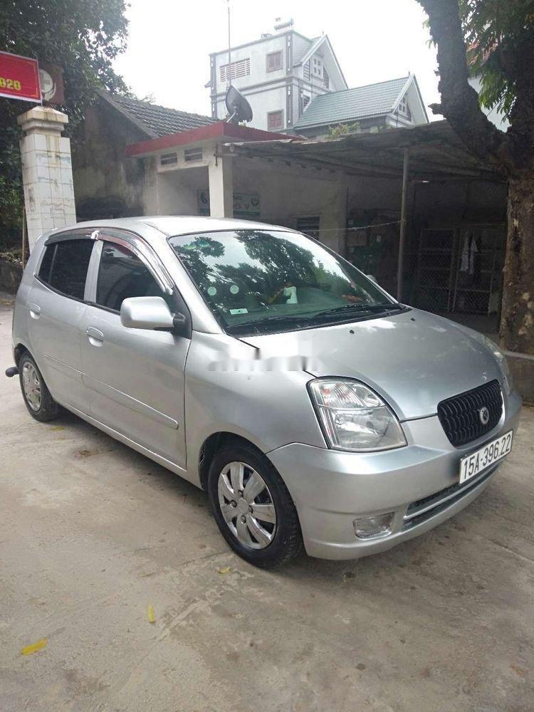 Bán ô tô Kia Morning sản xuất năm 2007, màu bạc, nhập khẩu nguyên chiếc chính hãng (1)
