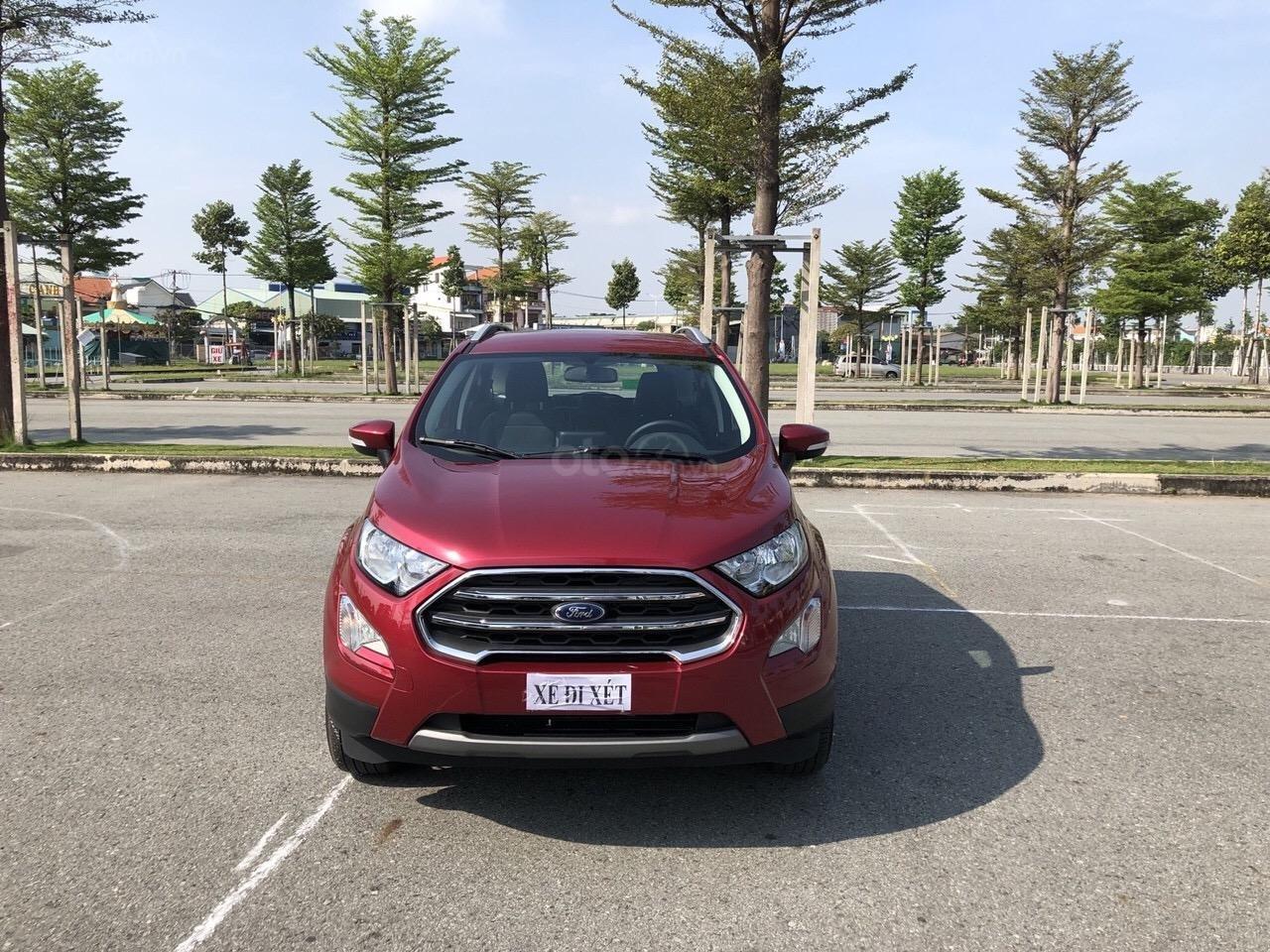 Cần bán xe Ford EcoSport 1.5L AT năm sản xuất 2019, all new bao sang tên 640 triệu (2)