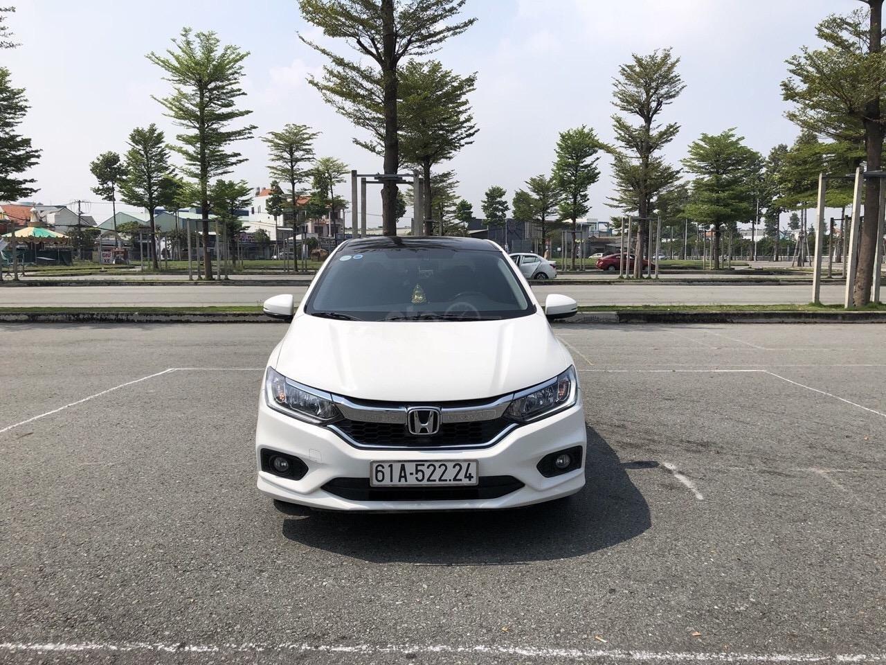 Bán Honda City 1.5CVT năm sản xuất 2018, xe full option giá 530 triệu (1)