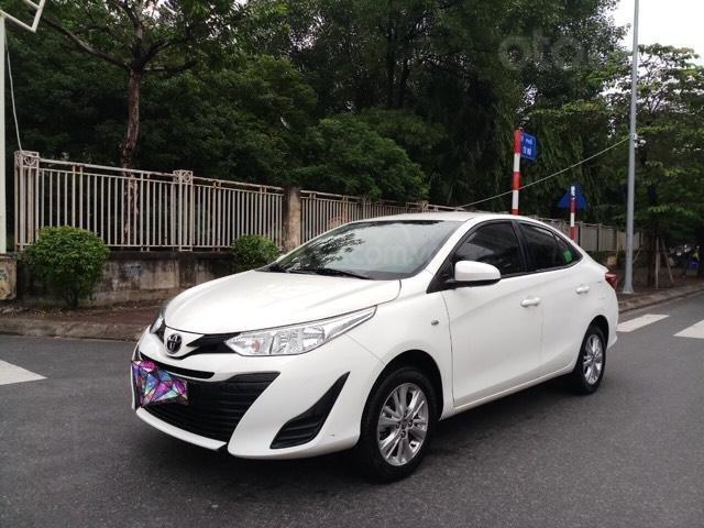 Ô Tô Thủ Đô bán xe Toyota Vios 1.5 MT 2019, màu trắng 489 triệu (1)