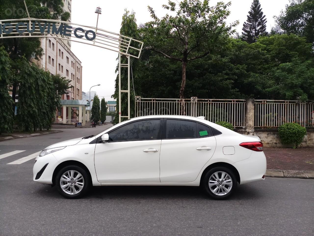Ô Tô Thủ Đô bán xe Toyota Vios 1.5 MT 2019, màu trắng 489 triệu (3)