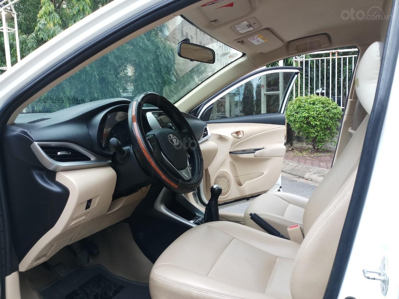 Ô Tô Thủ Đô bán xe Toyota Vios 1.5 MT 2019, màu trắng 489 triệu (9)