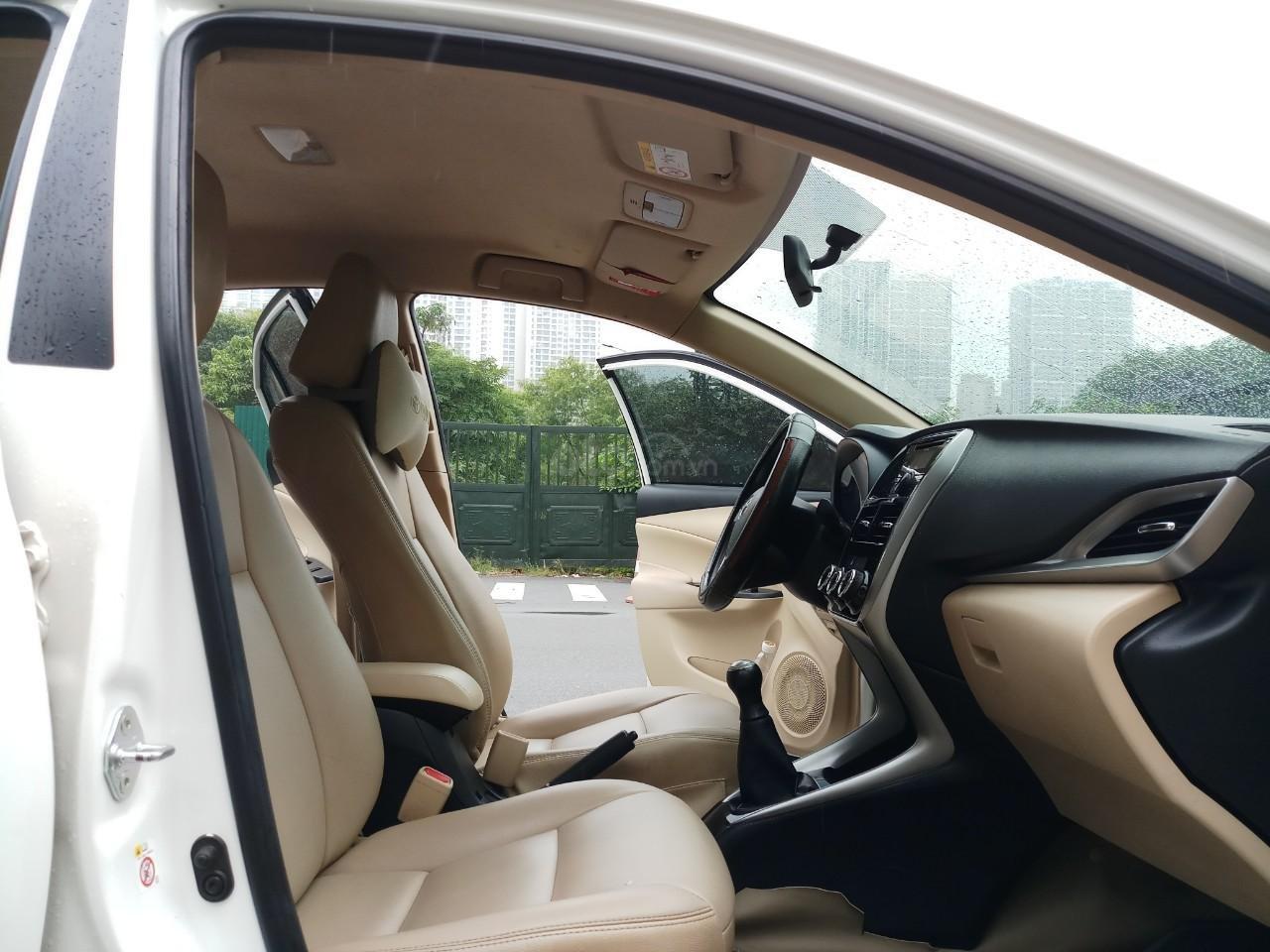 Ô Tô Thủ Đô bán xe Toyota Vios 1.5 MT 2019, màu trắng 489 triệu (7)