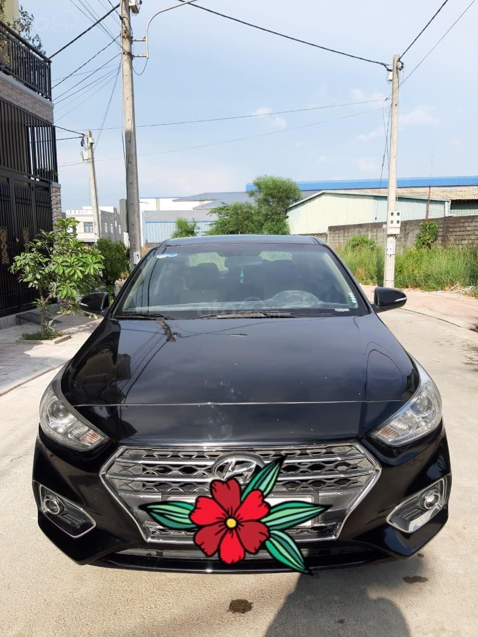 Bán ô tô Hyundai Accent 1.4MT năm 2018, màu đen (4)