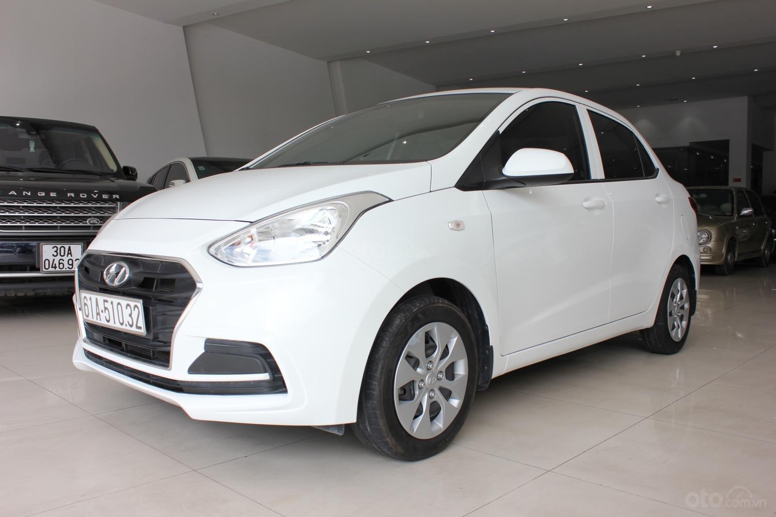 Cần bán xe Hyundai Grand i10 1.2 MT, năm 2018, màu trắng, giá 335tr (1)