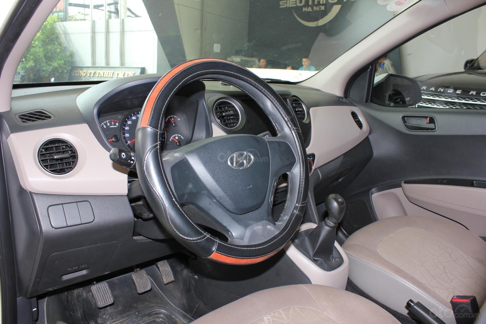 Cần bán xe Hyundai Grand i10 1.2 MT, năm 2018, màu trắng, giá 335tr (8)
