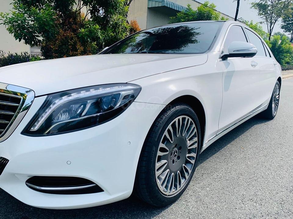 Bán xe Mercedes S500 model 2016 dòng xe siêu sang, trả trước 20% nhận xe ngay (5)