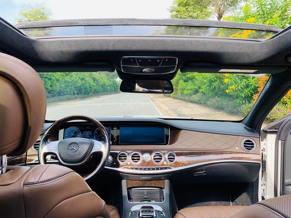 Bán xe Mercedes S500 model 2016 dòng xe siêu sang, trả trước 20% nhận xe ngay (11)