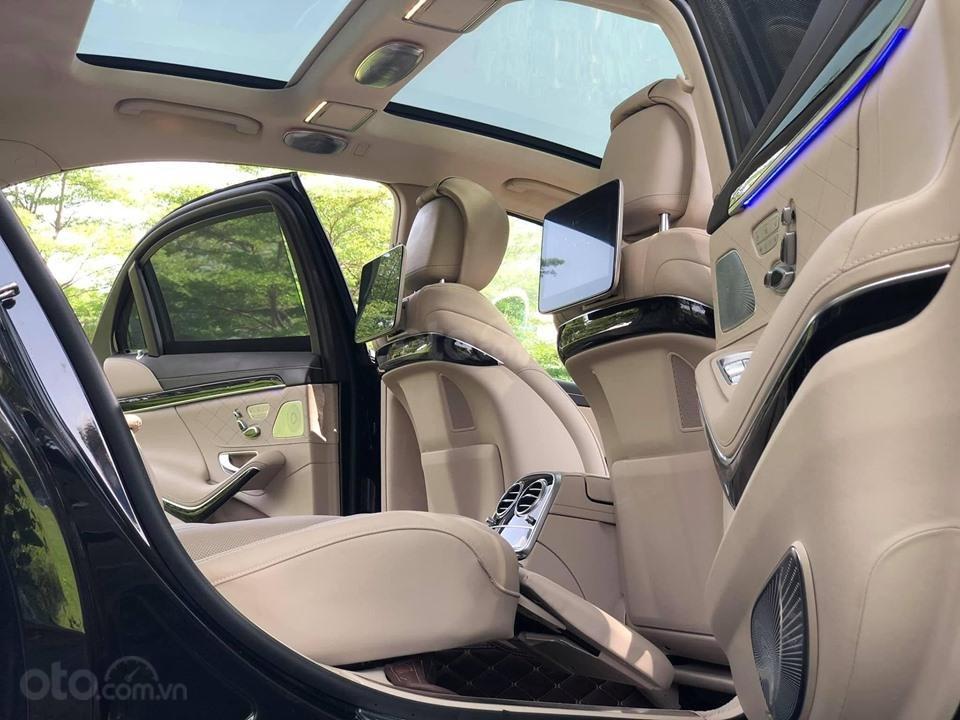 Bán xe Mercedes S450 Luxury màu đen đời 2018 siêu mới - dòng xe siêu sang, trả trước 20% nhận xe ngay (9)