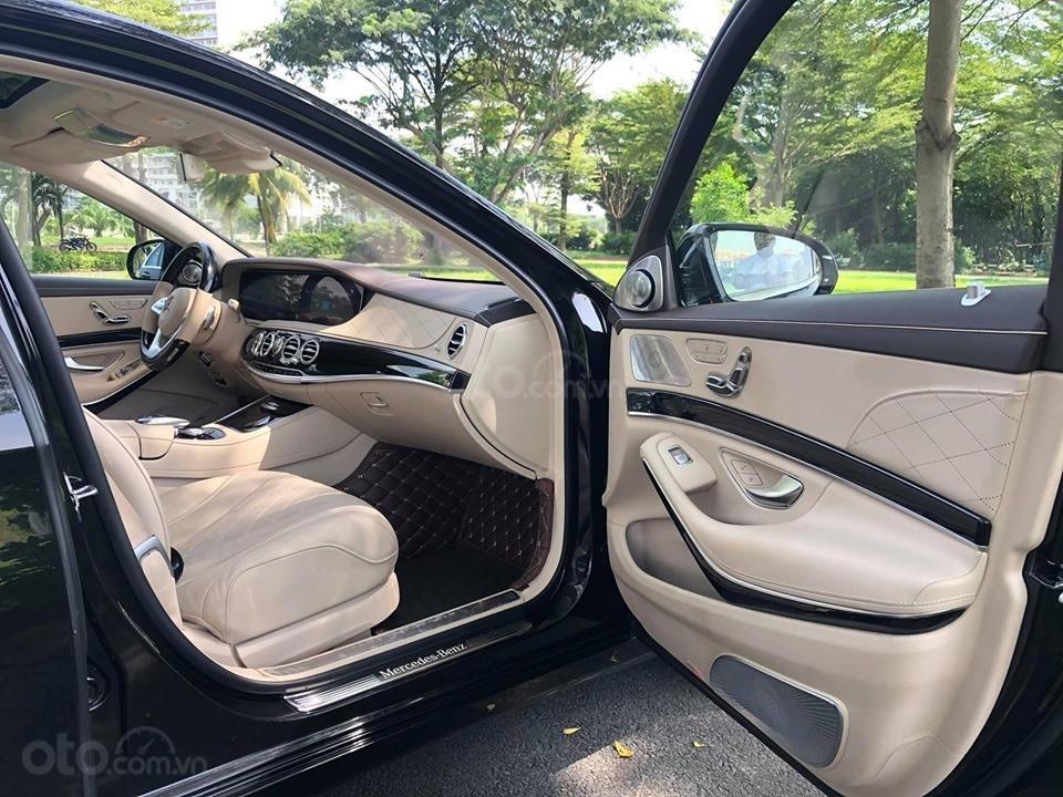 Bán xe Mercedes S450 Luxury màu đen đời 2018 siêu mới - dòng xe siêu sang, trả trước 20% nhận xe ngay (10)