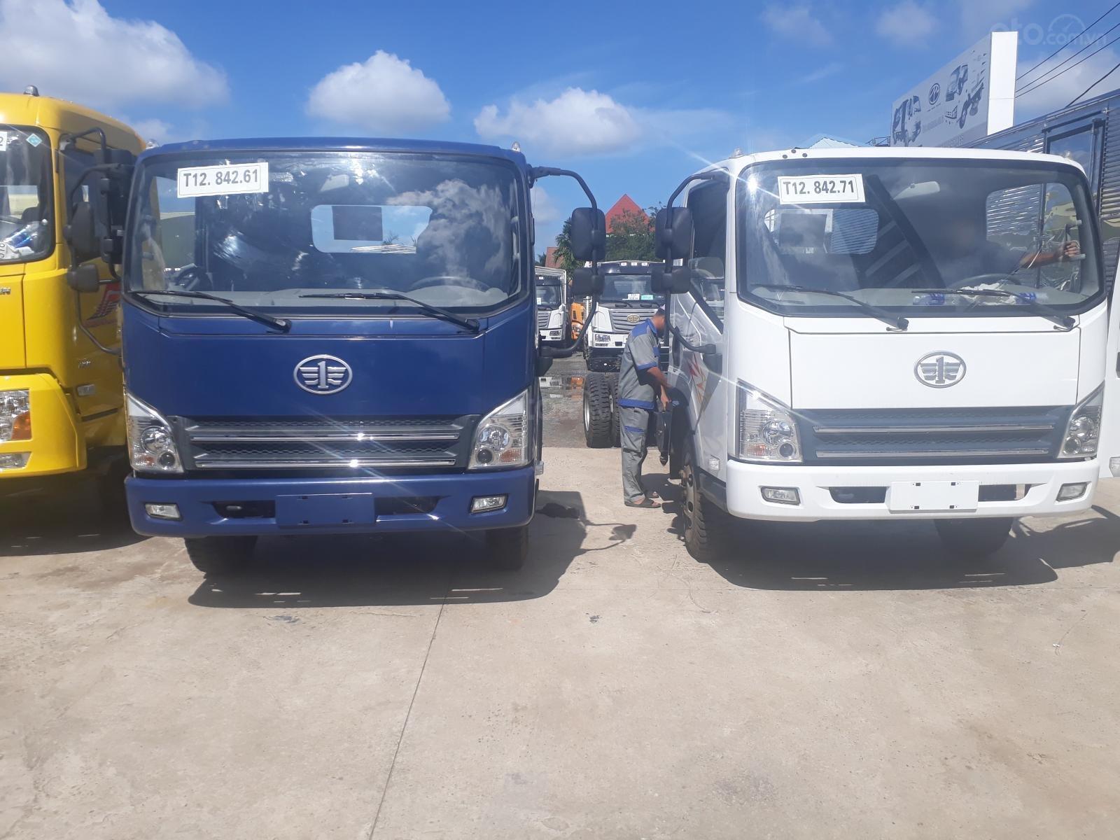 Xe tải Faw 8 tấn ga cơ máy Hyundai thùng 6m3 (2)