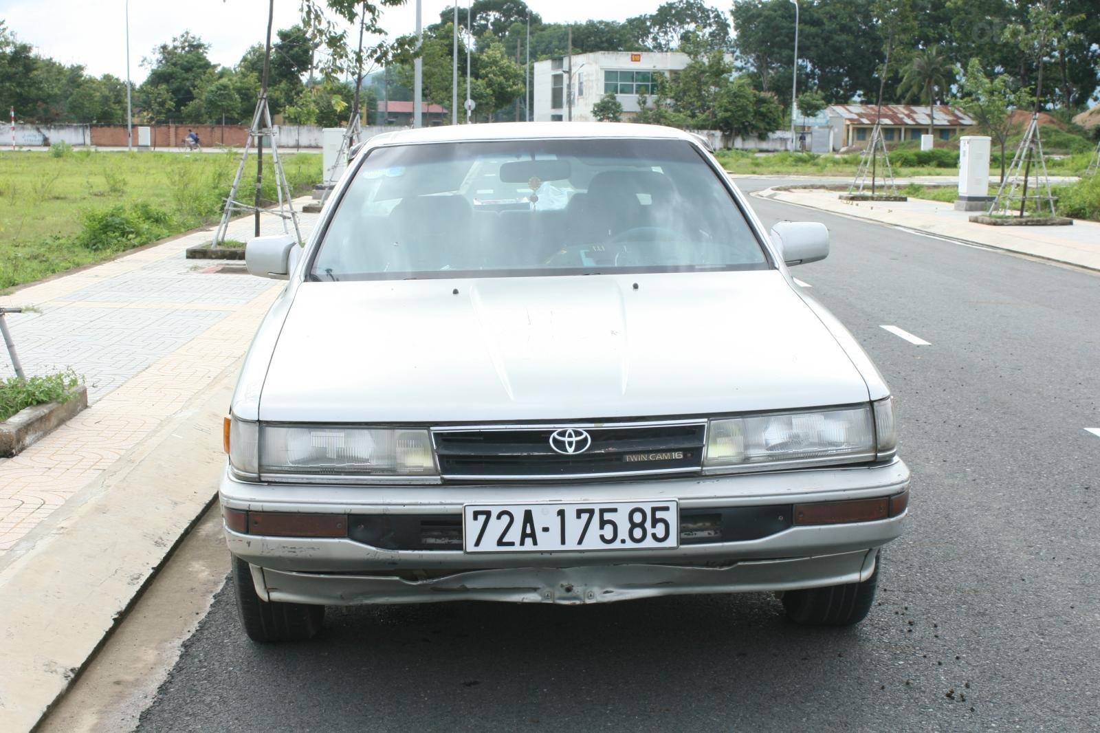 Bán ô tô Toyota Camry đời 1987, màu bạc, nhập khẩu nguyên chiếc chính chủ, giá 90tr (2)
