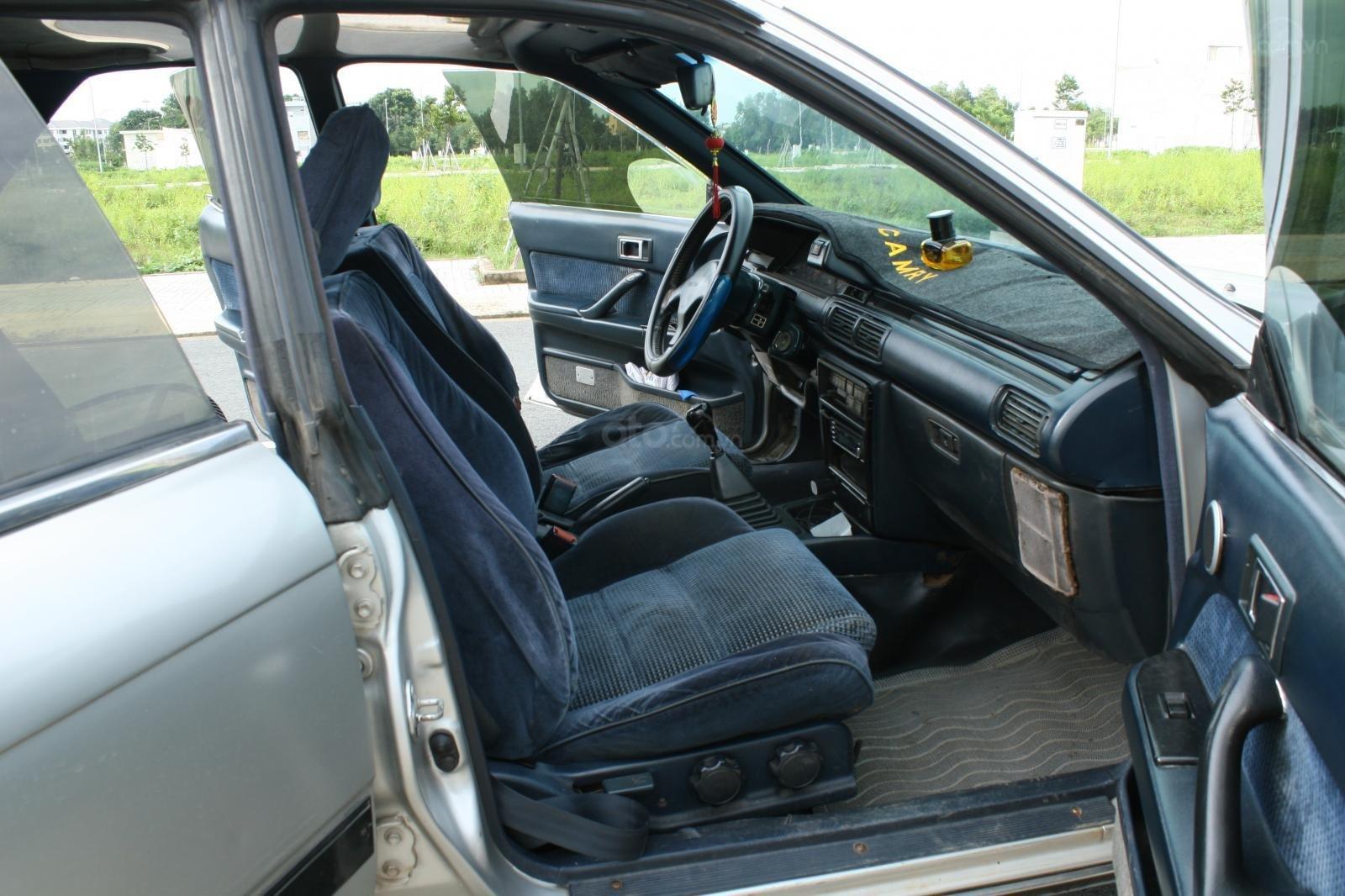 Bán ô tô Toyota Camry đời 1987, màu bạc, nhập khẩu nguyên chiếc chính chủ, giá 90tr (6)
