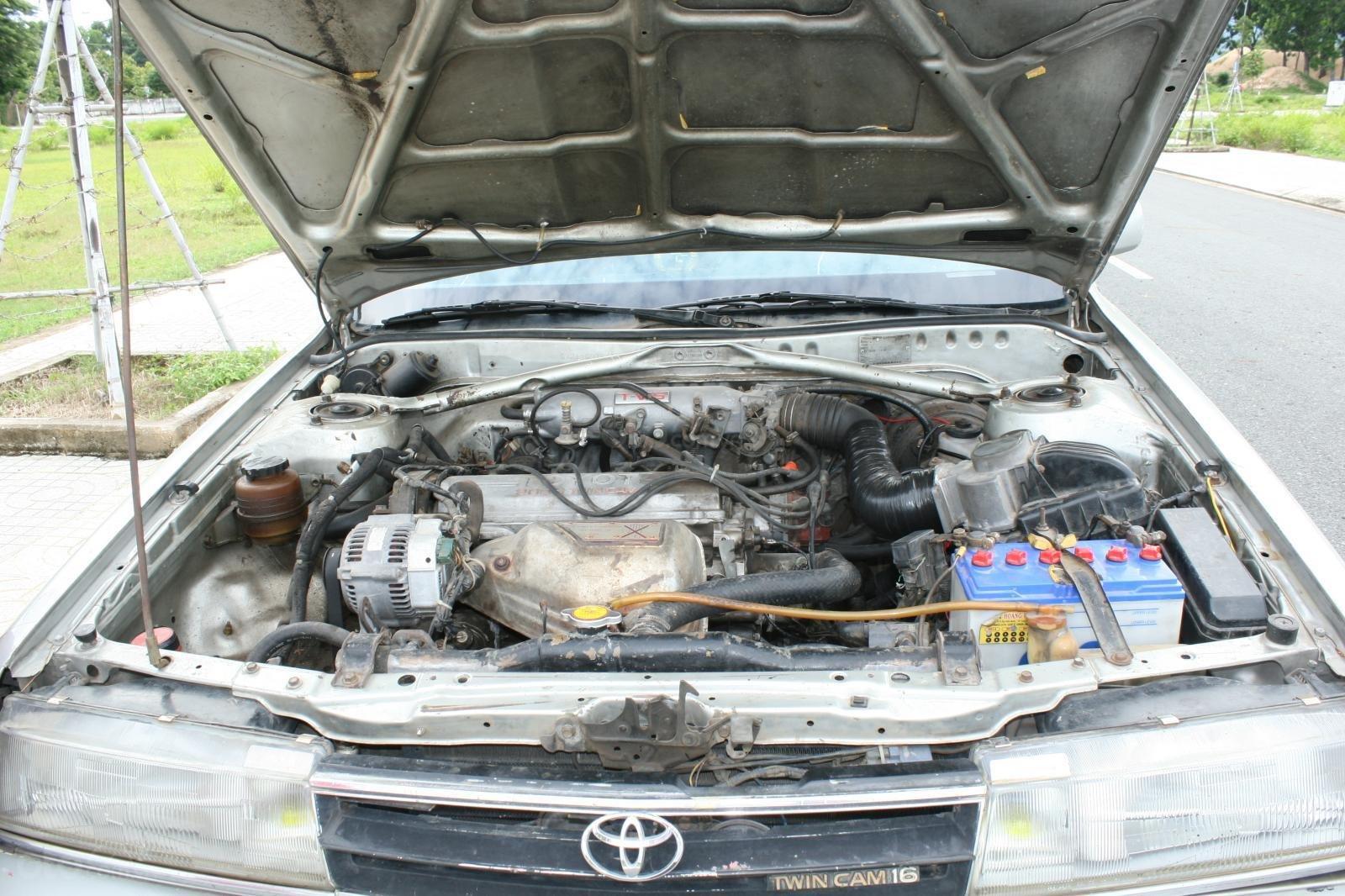 Bán ô tô Toyota Camry đời 1987, màu bạc, nhập khẩu nguyên chiếc chính chủ, giá 90tr (9)