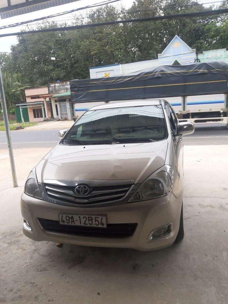 Cần bán xe Toyota Innova năm 2008, nhập khẩu xe gia đình, giá tốt (1)