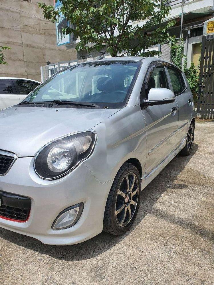 Bán Kia Morning năm 2012, màu bạc chính chủ, giá tốt, xe nguyên bản (3)