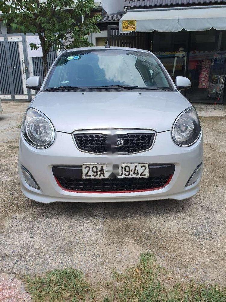 Bán Kia Morning năm 2012, màu bạc chính chủ, giá tốt, xe nguyên bản (1)