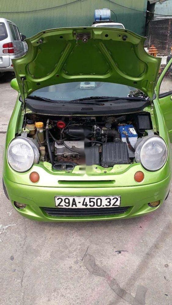 Cần bán Daewoo Matiz sản xuất năm 2008, màu xanh lục, xe nhập (7)
