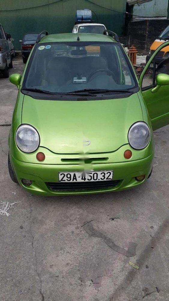 Cần bán Daewoo Matiz sản xuất năm 2008, màu xanh lục, xe nhập (1)