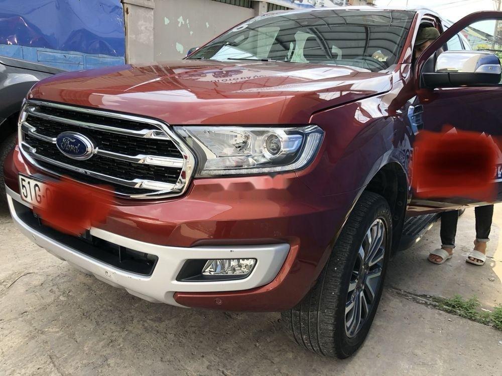Bán Ford Everest sản xuất 2018, màu đỏ, nhập khẩu nguyên chiếc (3)
