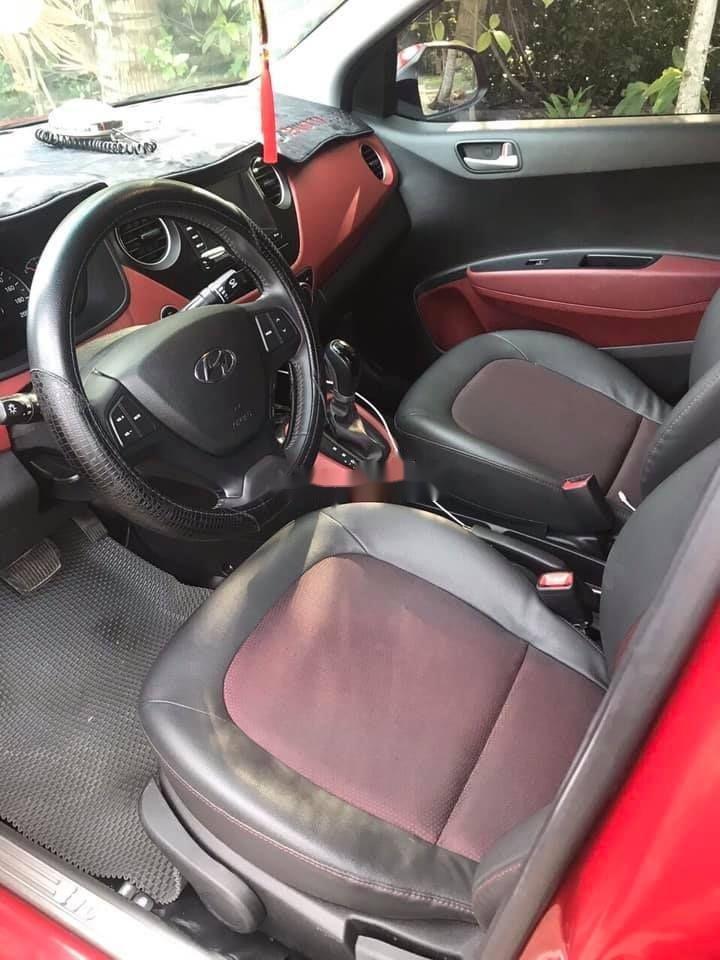 Bán ô tô Hyundai Grand i10 sản xuất năm 2018, màu đỏ, xe nhập chính hãng (5)