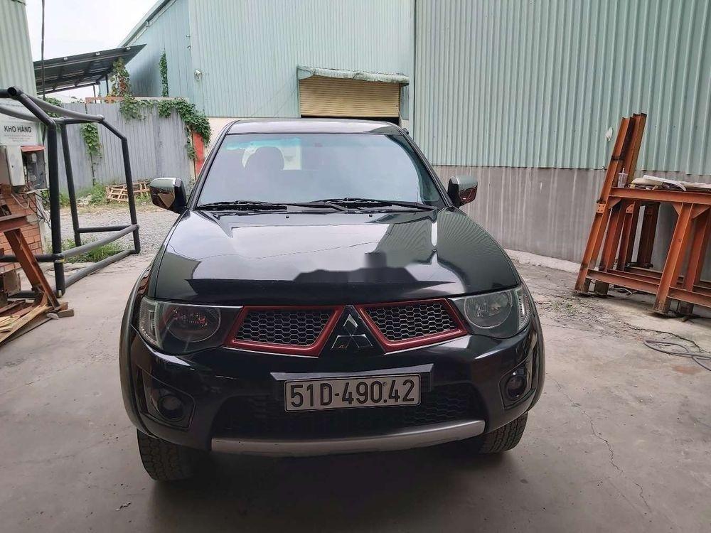 Cần bán xe Mitsubishi Triton sản xuất năm 2010, màu đen, nhập khẩu nguyên chiếc, giá tốt (3)
