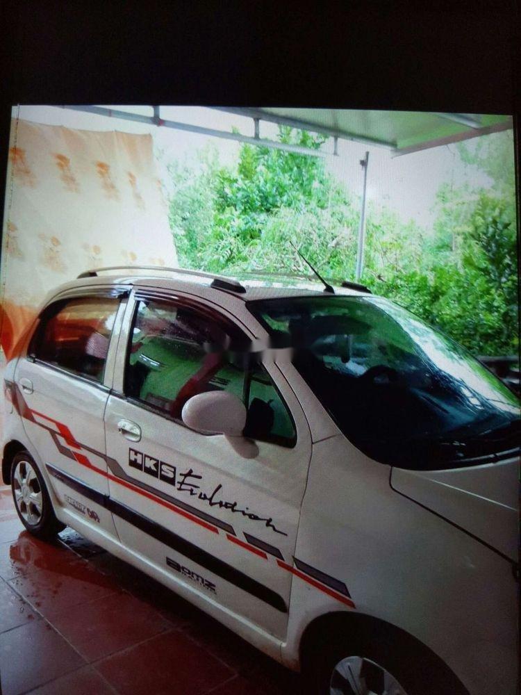 Bán Chevrolet Spark đời 2009, màu trắng, giá 92tr (2)