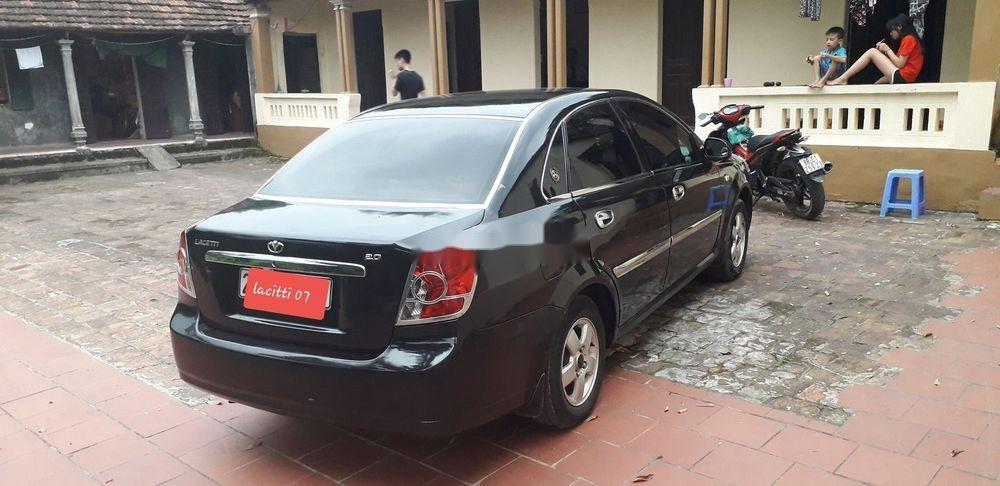Cần bán xe Daewoo Lacetti 2007, màu đen, giá tốt (3)