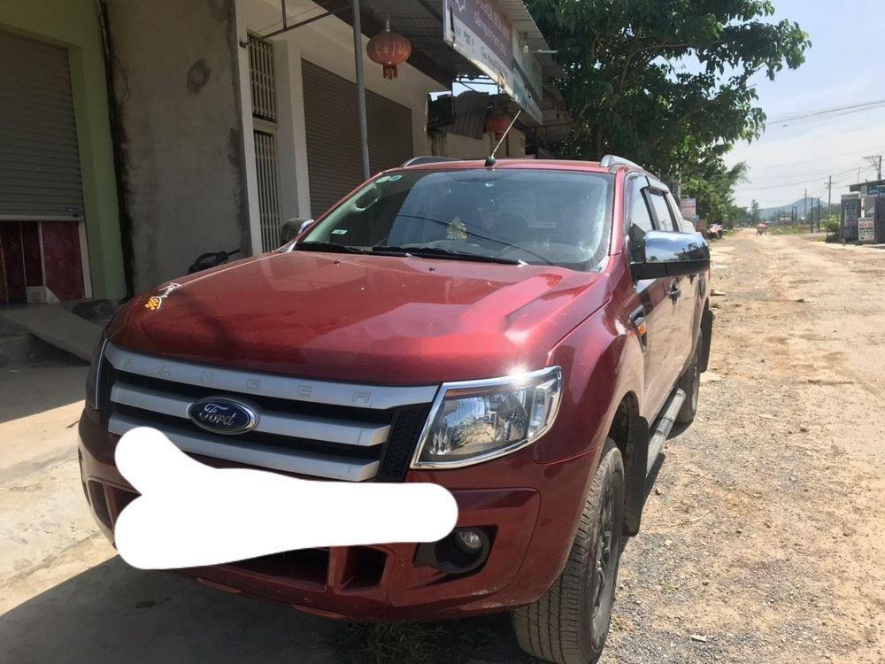 Cần bán lại xe Ford Ranger đời 2015, màu đỏ, nhập khẩu (2)