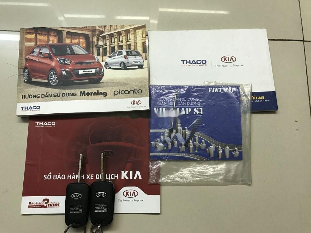 Cần bán Kia Picanto sản xuất năm 2013, màu đỏ số tự động xe nguyên bản (5)