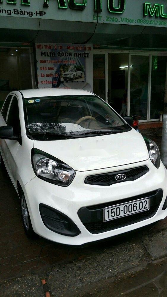 Bán xe Kia Morning 1.0AT sản xuất năm 2011, màu trắng, nhập khẩu, giá tốt (3)