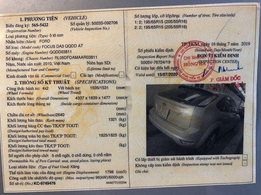 Bán Ford Focus năm 2010 còn mới, giá tốt (4)