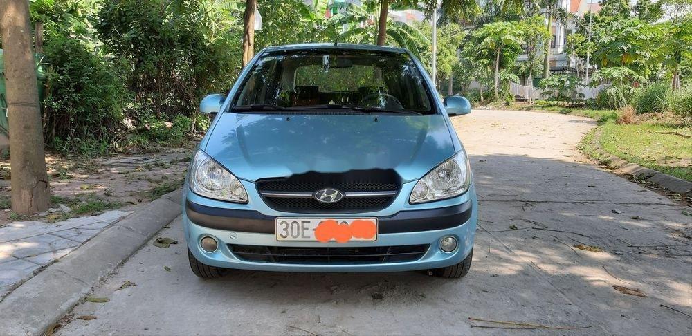 Bán Hyundai Getz năm sản xuất 2009, màu xanh lam, nhập khẩu chính hãng (3)
