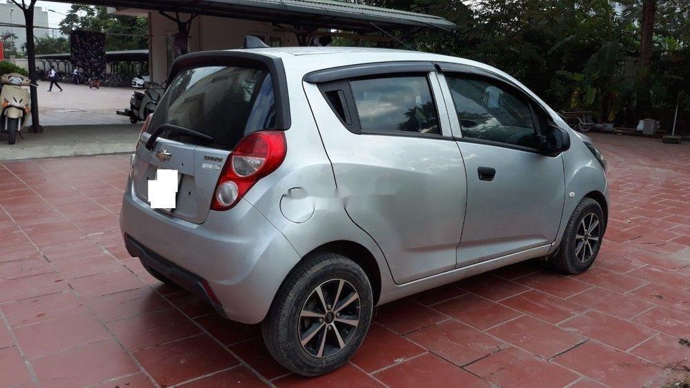 Bán Chevrolet Spark AT năm 2013, màu bạc, nhập khẩu số tự động, giá 172tr (7)