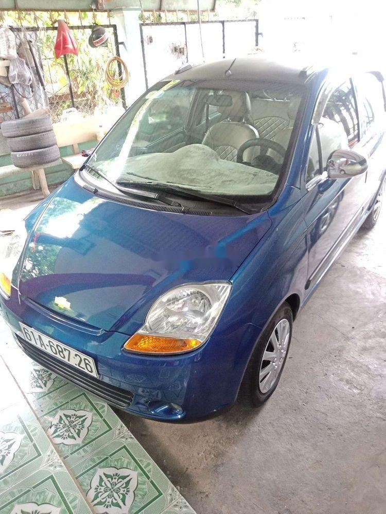 Bán Chevrolet Spark sản xuất 2009, màu xanh lục chính chủ  (2)