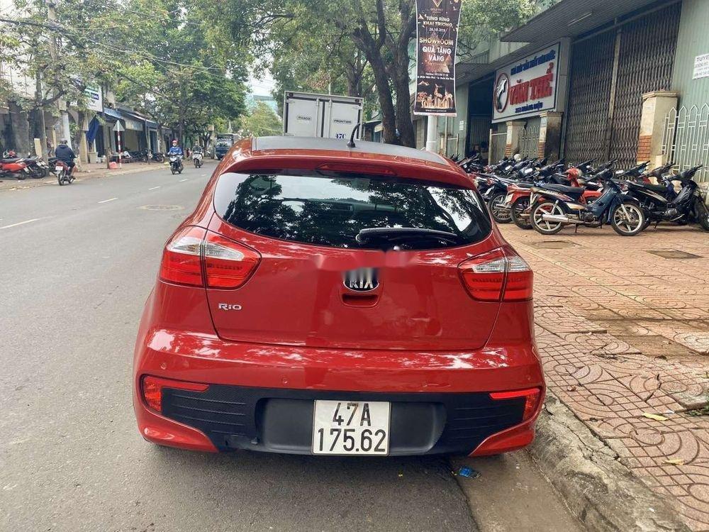 Xe Kia Rio đời 2015, màu đỏ, nhập khẩu nguyên chiếc  (3)
