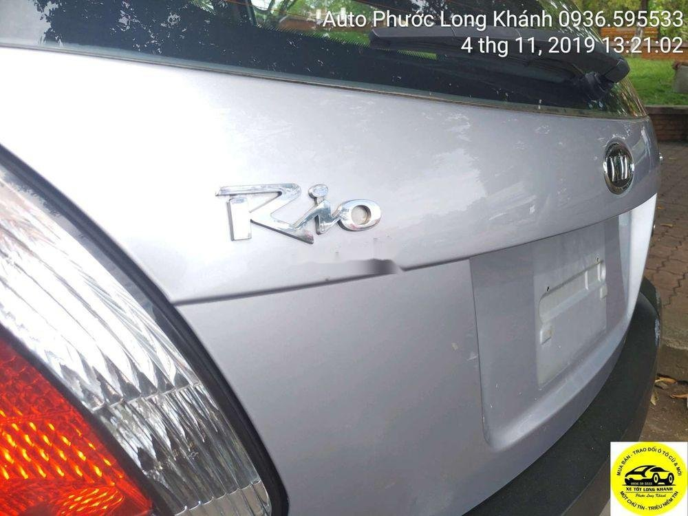 Cần bán Kia Rio đời 2008, màu bạc, nhập khẩu Hàn Quốc chính chủ (2)